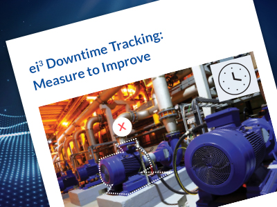ei3 Downtime Tracking - Measure to Manage